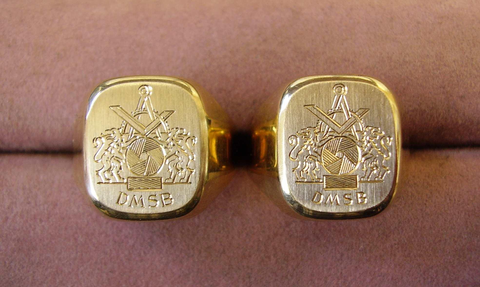 2 goldringe